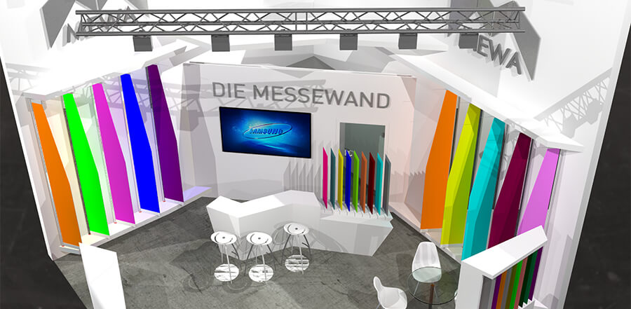 Messestand EuroShop 3D